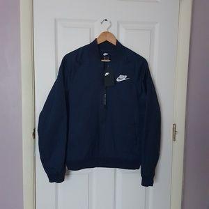 NWT Nike Mens Sportswear NSW Bomber Jacket Navy